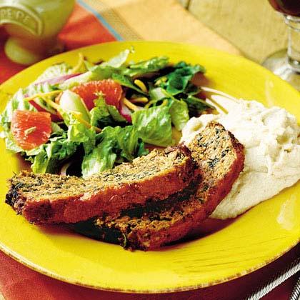 Herb-and-Veggie Meatloaf