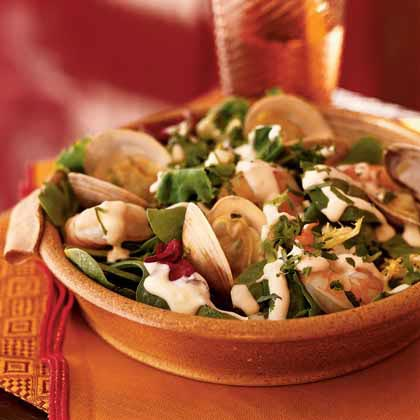 Wasabi Seafood SaladRecipe
