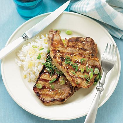 Asian Grilled Pork