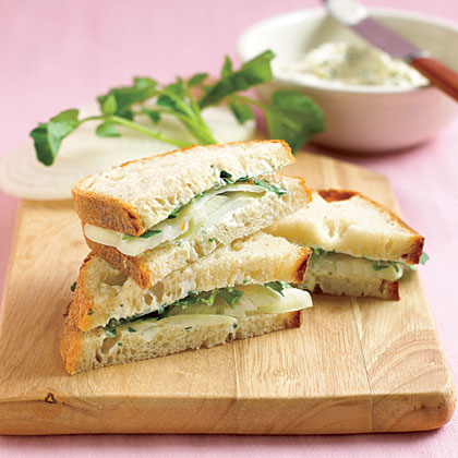 Onion and Herb Sandwiches