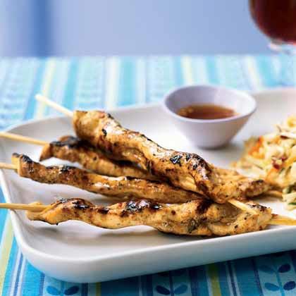 Chicken Sate with Ponzu SauceRecipe