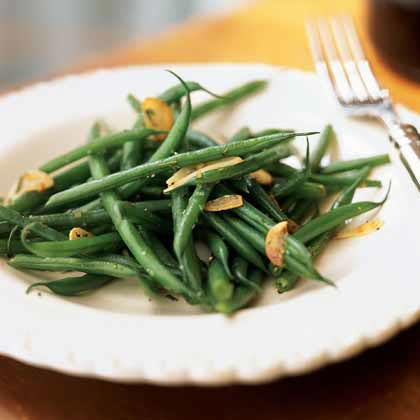 haricots verts with browned garlic recipe myrecipes. Black Bedroom Furniture Sets. Home Design Ideas