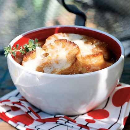 Smoked Onion and Garlic Soup Recipe
