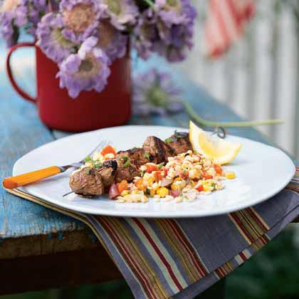 Orzo, Corn, and Roasted Bell Pepper SaladRecipe