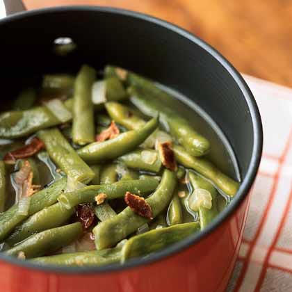 Basic Pot of Pole Beans