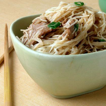 <p>Five-Spice Pork Lo Mein</p>