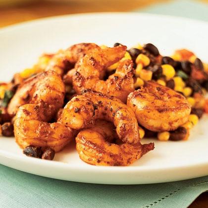 Black Bean, Corn, and Shrimp Salad Recipe | MyRecipes
