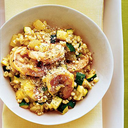 shrimp-zucchini-risotto
