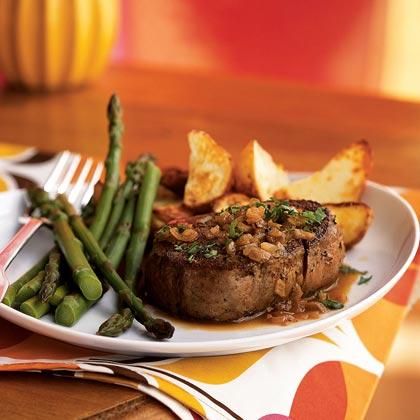 <p>Steak Diane</p>