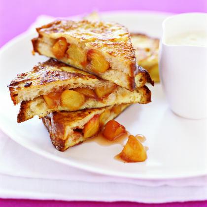Peach French Toast Recipe