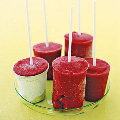 Raspberry Pops Recipe