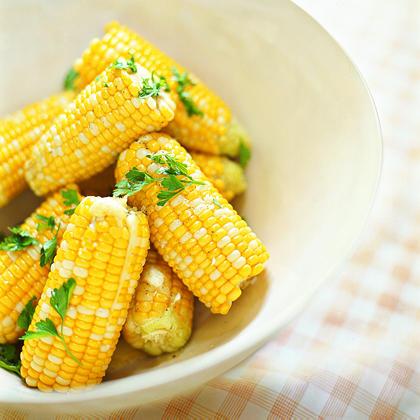 Parsleyed Corn on the Cob Recipe