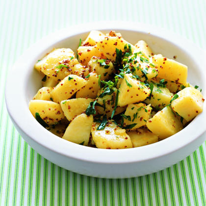 Potato Salad with Grainy Mustard Vinaigrette