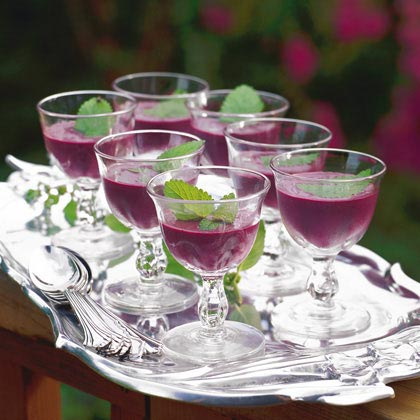 Chilled Blueberry Soup Recipe