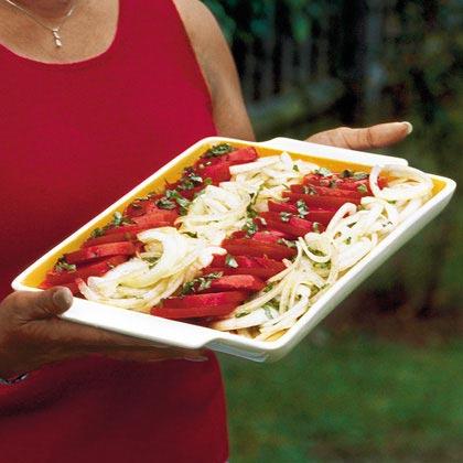 Tomato-and-Onion Salad