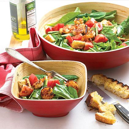 Grilled Shrimp and Arugula Salad Recipe