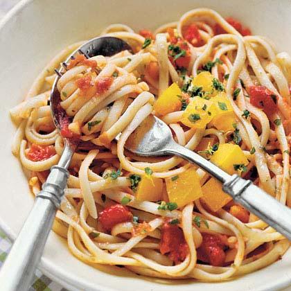 Two Tomato Linguine Recipe