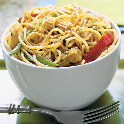 Sweet-Hot Asian Noodle Bowl