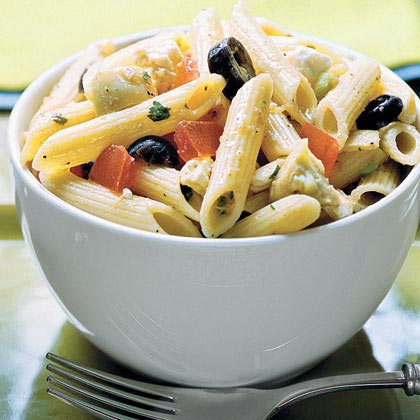 Penne With Greek-Style Tomato Sauce Recipe