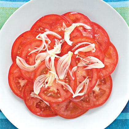 Tomato and Shallot SaladRecipe