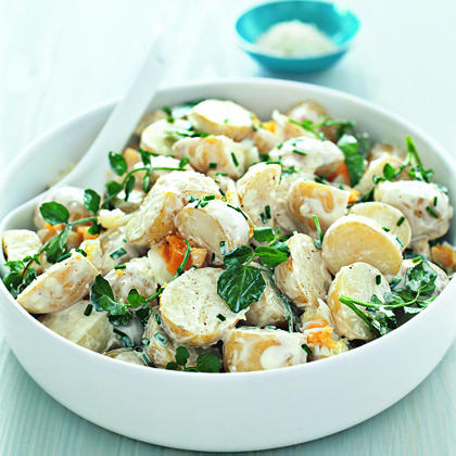 Baby Potato and Watercress Salad