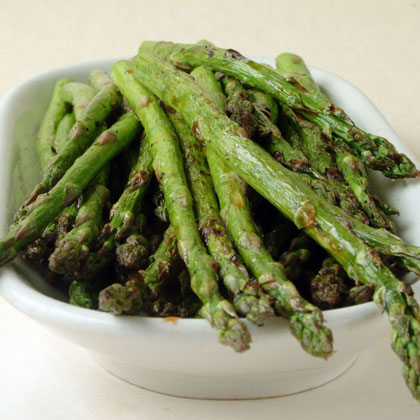Grilled Asparagus with Balsamic VinegarRecipe