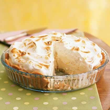 Lemon Meringue Baked Alaska