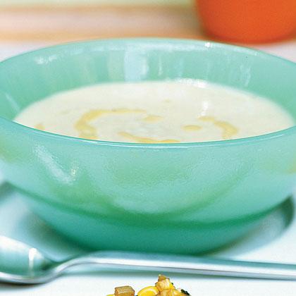 Creamy Truffle-Scented White Bean Soup