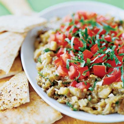 Zee's Eggplant Salad Recipe
