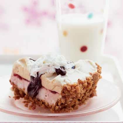 Malt Shop Ice Cream Pie