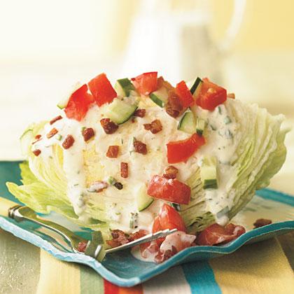 Iceberg Wedge with Pancetta Recipe