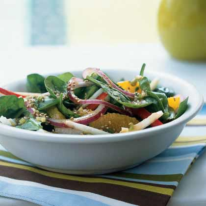 Jicama and Orange Salad