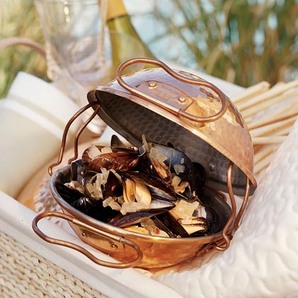 Mussels with Fennel and Garlic