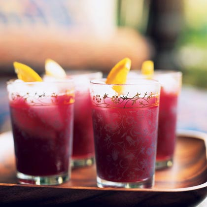 Pomegranate-Orange Cooler Recipe