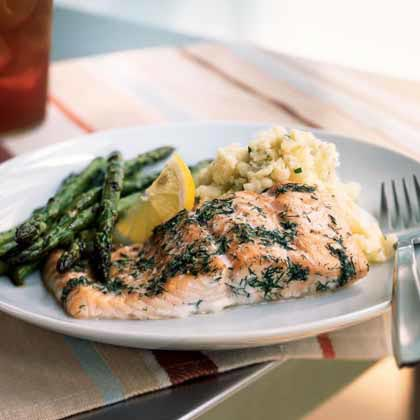 Baked Salmon with Dill Recipe