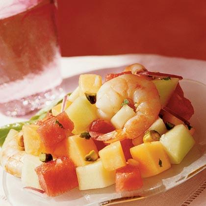 Shrimp-and-Melon Salad