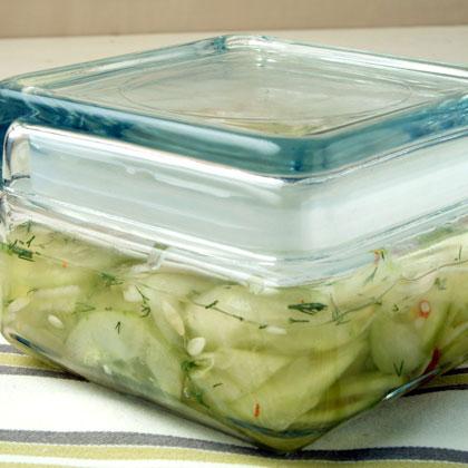 Spicy Cucumber Relish
