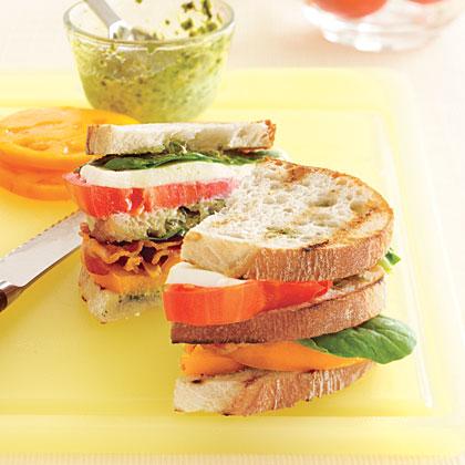 Tomato Club SandwichRecipe