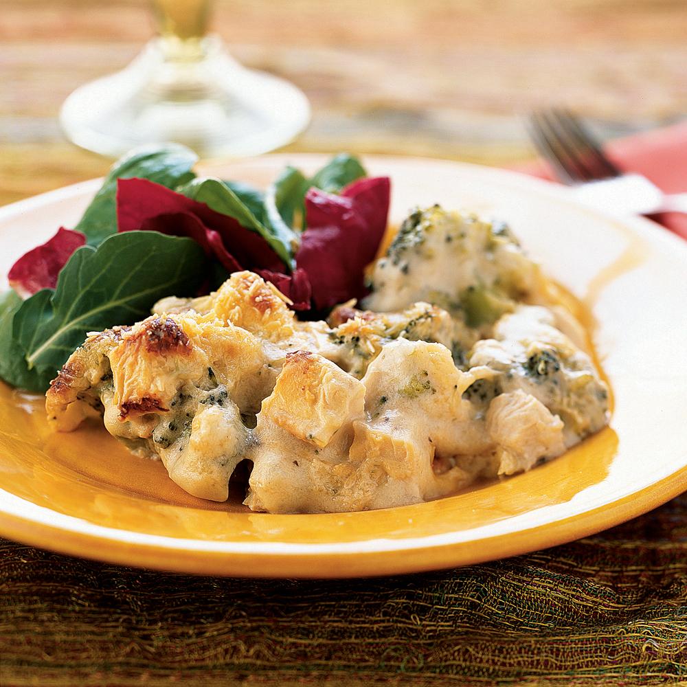 <p>Chicken and Broccoli Casserole</p>