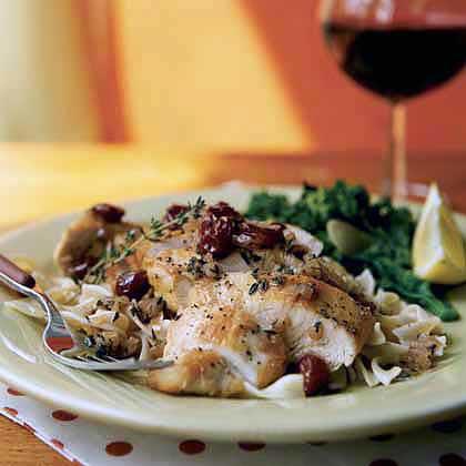 Chicken in Cherry Marsala Sauce Recipe