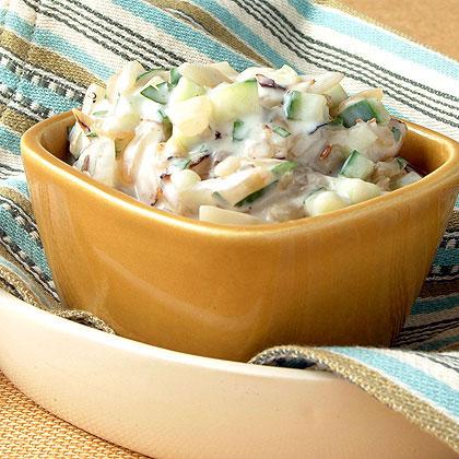Grilled Onion Raita