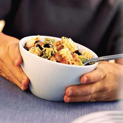 <p>Tex-Mex Pasta Salad</p>