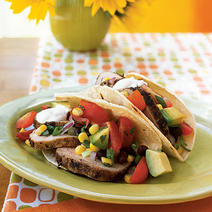 Cumin-Crusted Pork Soft Tacos