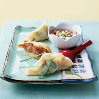 Hand-Hacked Pot Stickers Recipe