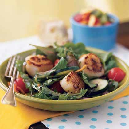 Seared Scallop Salad Recipe