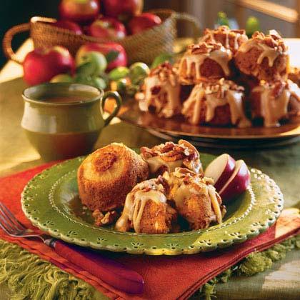 Caramel-Apple Muffins Recipe