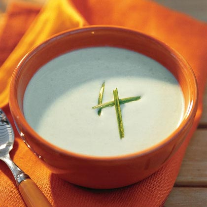 Soup: Avocado Soup RecipeThis cool, creamy, and elegant starter can be made-ahead and allows for last-minute serving. Garnish with green onions and keep hot sauce on hand in case your guests tastes run a little spicy.