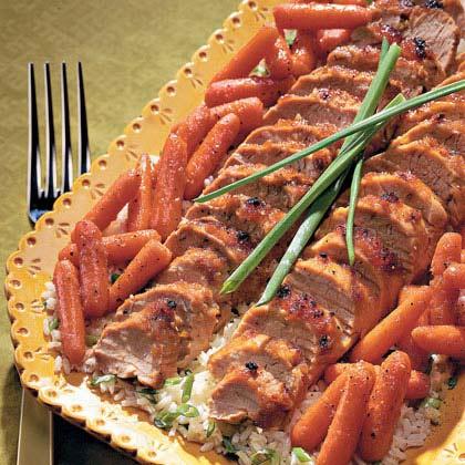 Ginger-Glazed Pork Tenderloin