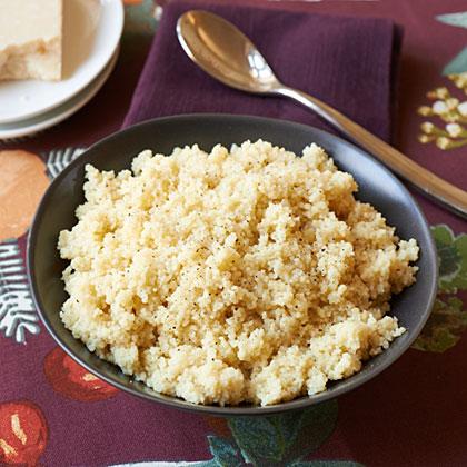 Quick Parmesan CouscousRecipe