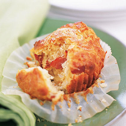 Bacon-Cheddar Muffins RecipePut the salty verses sweet debate to bed and indulge in a blissful mixture of both. Sharp Cheddar cheese, another breakfast-table staple, plays a starring role in these budget-friendly muffins.